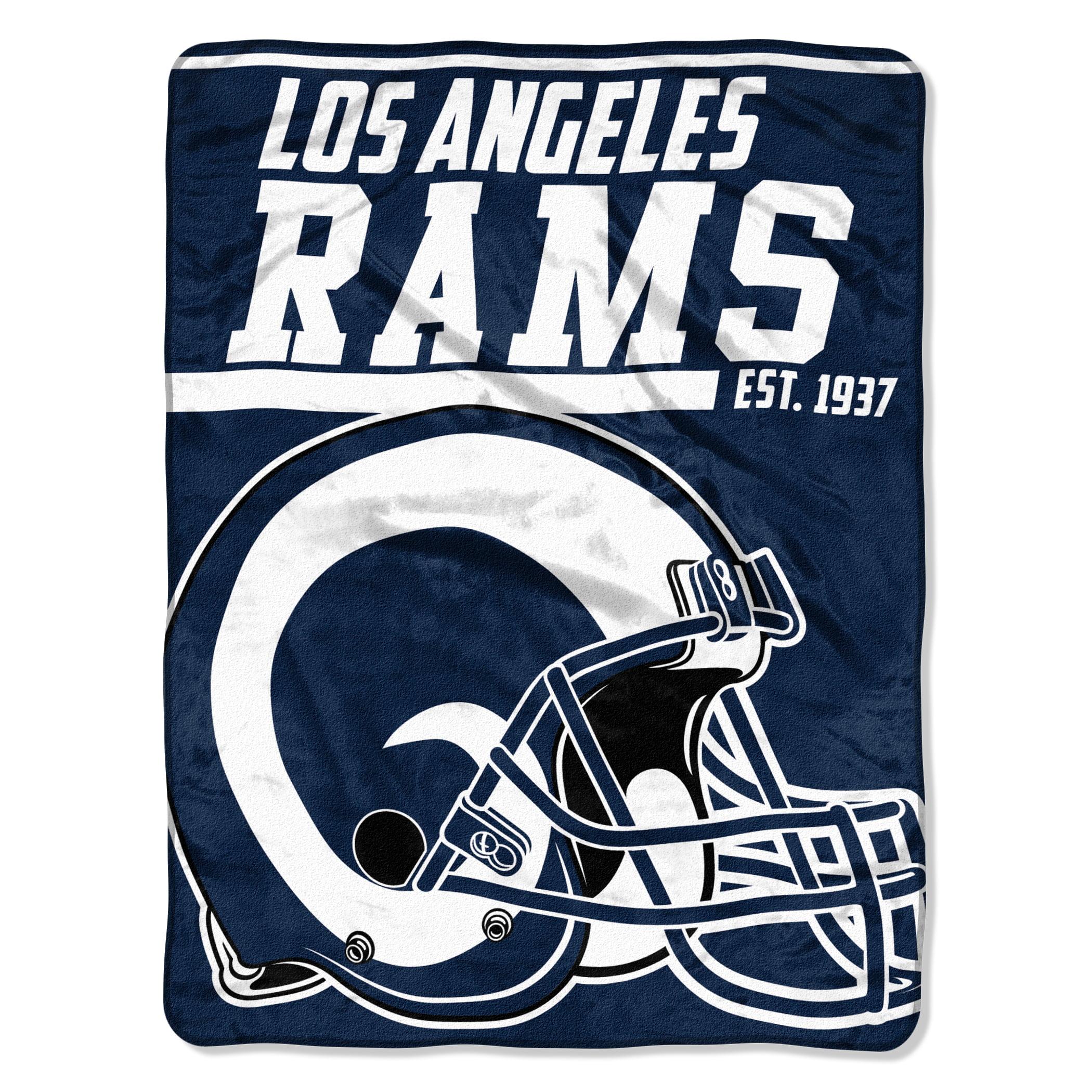 "NFL Los Angeles Rams ""40-Yard Dash"" 46""x 60"" Micro Raschel Throw"