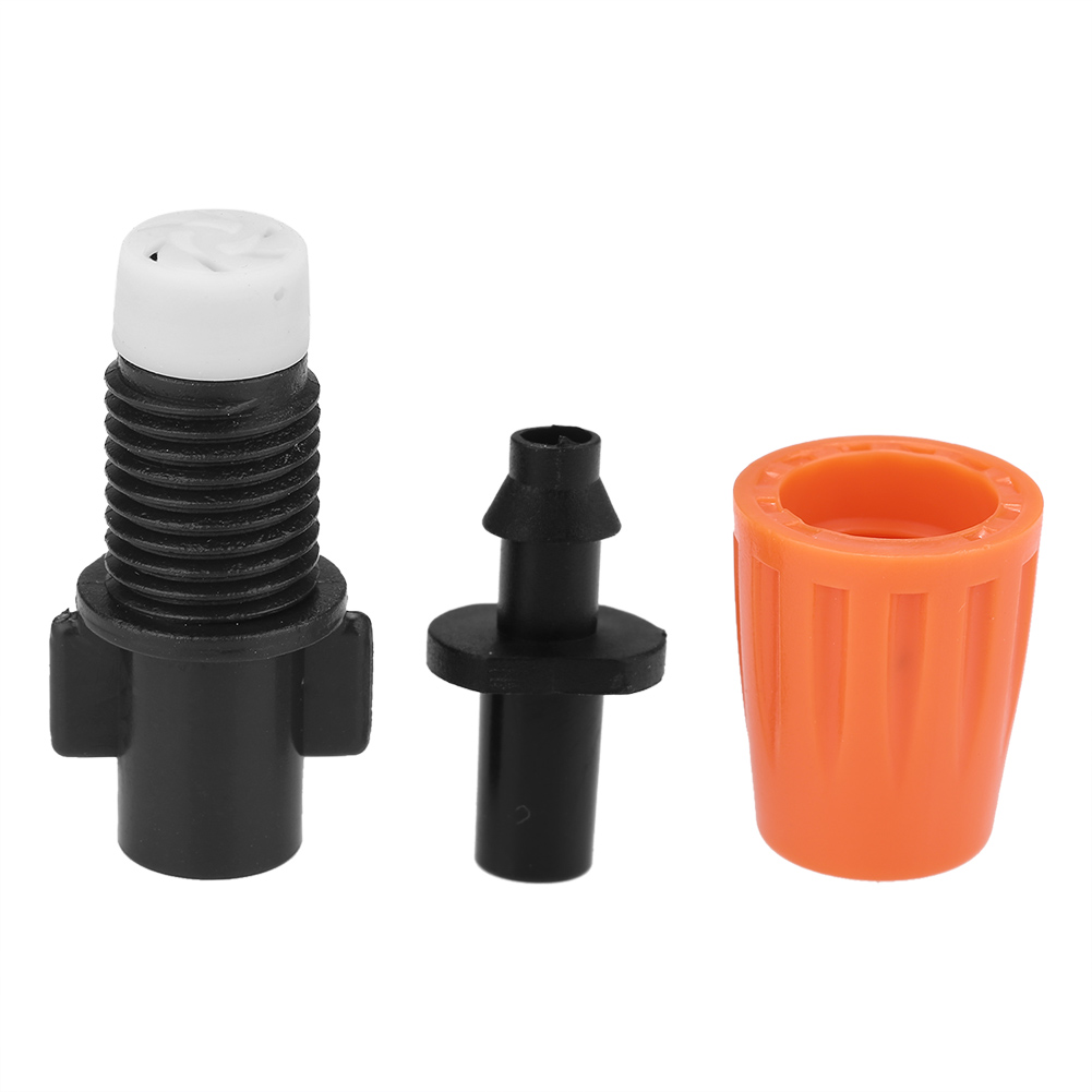Brand New 50pcs Hose 1//4inch Plastic Hose Drip Nozzle High Quality Watering Kits