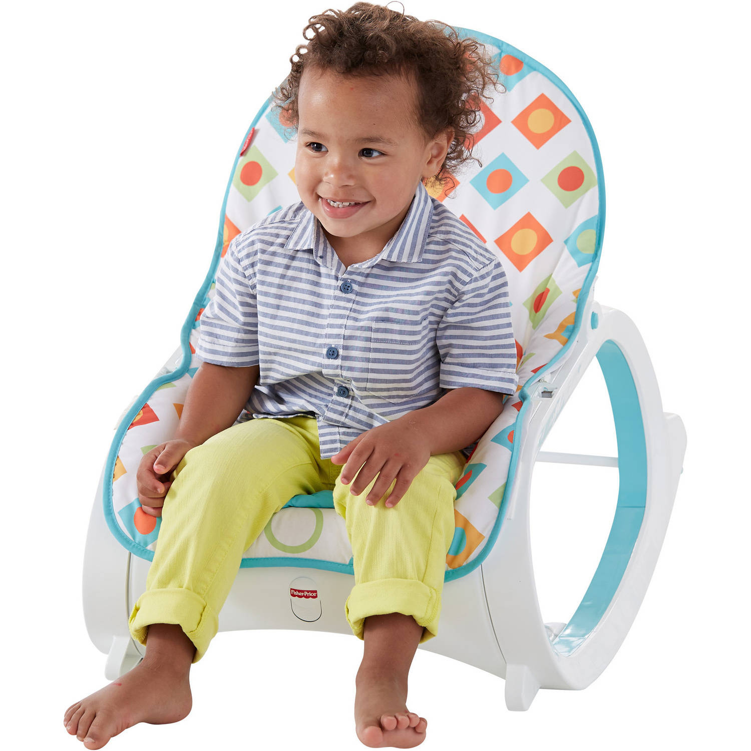 Fisher Price Infant to Toddler Rocker Geo Diamonds Walmart