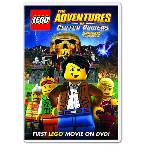 LEGO-ADVENTURES OF CLUTCH POWERS (DVD) (ENG/SPAN/FREN SDH/DOL DIG 5.1)