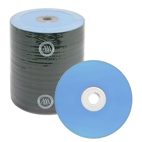 100 Spin-X Diamond Certified 48x CD-R 80min 700MB Blue Color Top Thermal