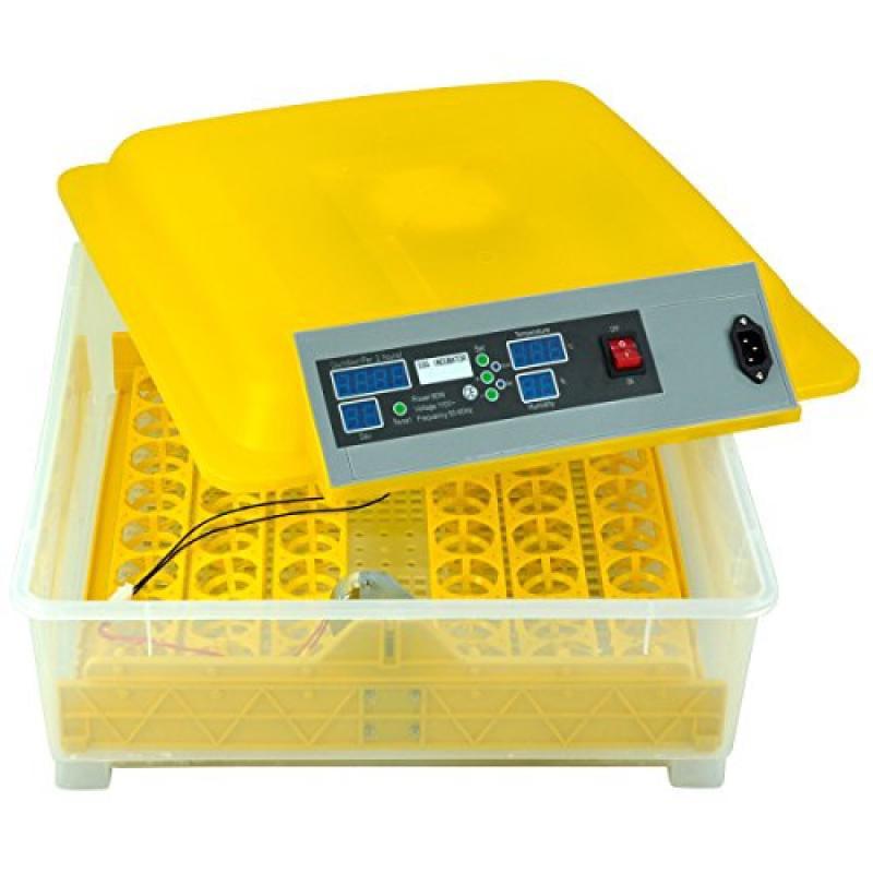 Yaheetech 48 Digital Egg Incubator Hatcher Temperature Co...