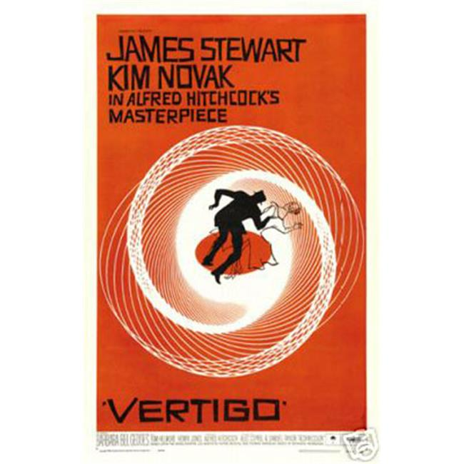 Hot Stuff Enterprise 4773-12x18-LM Vertigo Hitchcock Poster