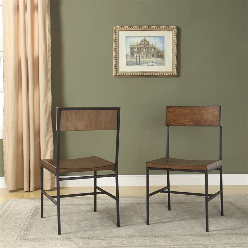 Carolina Classics Elmsley Dining Chair in Chestnut (Set of 2)