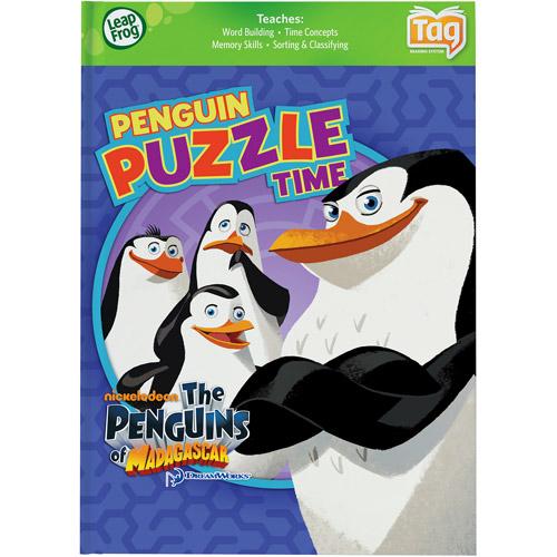 LeapFrog Tag Game Book: Penguins