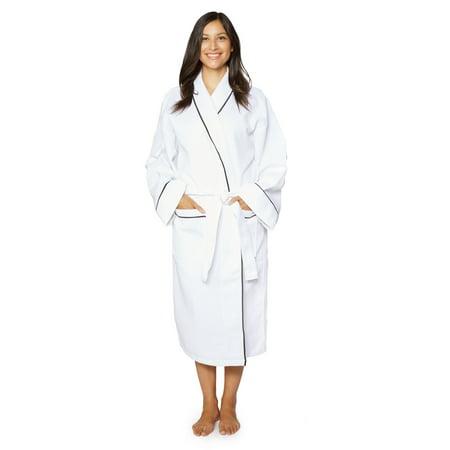 Cozy Robe (Cozy Fleece LLC Cotton Unisex Waffle Weave Bath Robe with Stylish)