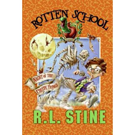 Rotten School #14: Night of the Creepy Things - eBook