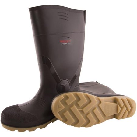 Tingley Rubber 702123498 15 in. Brown Cleated Knee Boot, Size 9 Tingley Brown Boots