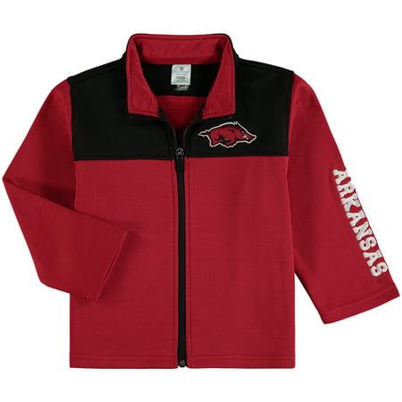 Arkansas Razorbacks Colosseum Toddler Clutch Full-Zip Jacket - Cardinal