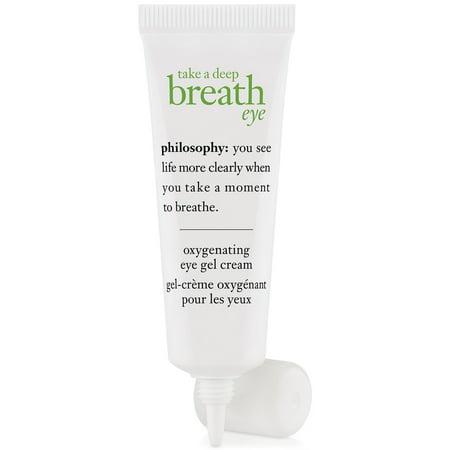 Philosophy Take a Deep Breath Eye Oxygenating Eye Gel Cream, 0.5 Oz