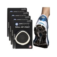 Sof Comfort (4 Pairs) Ball Of Foot Cushions Unisex Shoe Pads Shock Absorbing Foam Inserts Insoles