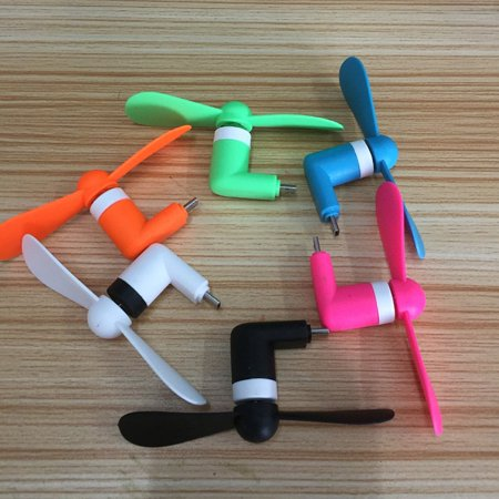 For Android Portable Cool Micro USB Fan Mobile Phone USB Fans Low Voice Fan - image 6 of 6