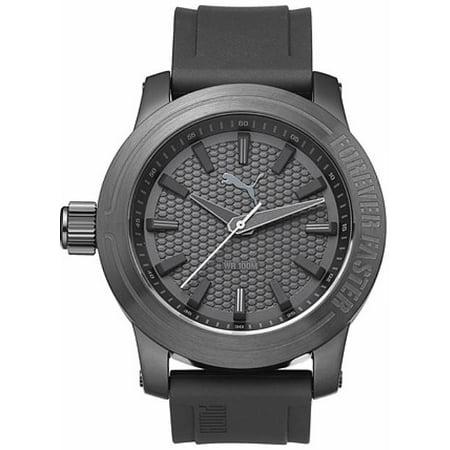 Men's Forever Gunmetal Silicone Design Watch PU103991002 (Watches Puma Man)