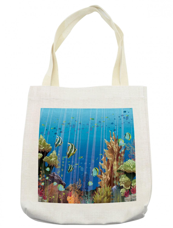 Eco Bag 100/% Sea Life Ray Fish