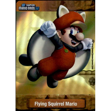 Super Mario Flying Squirrel Mario Dog Tag Trading Card (Squirrel Dog Movie)