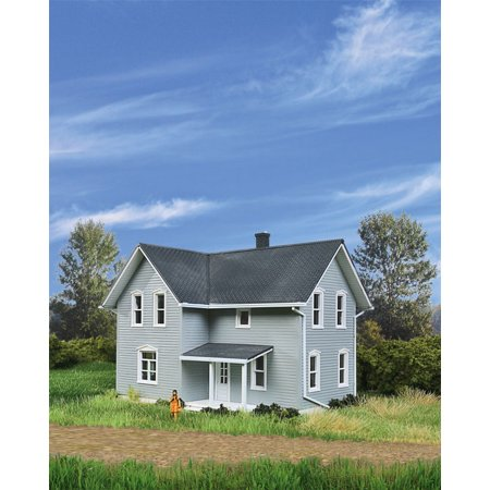 Walthers Cornerstone HO Scale Building/Structure Kit Tillman Farm House/Home ()