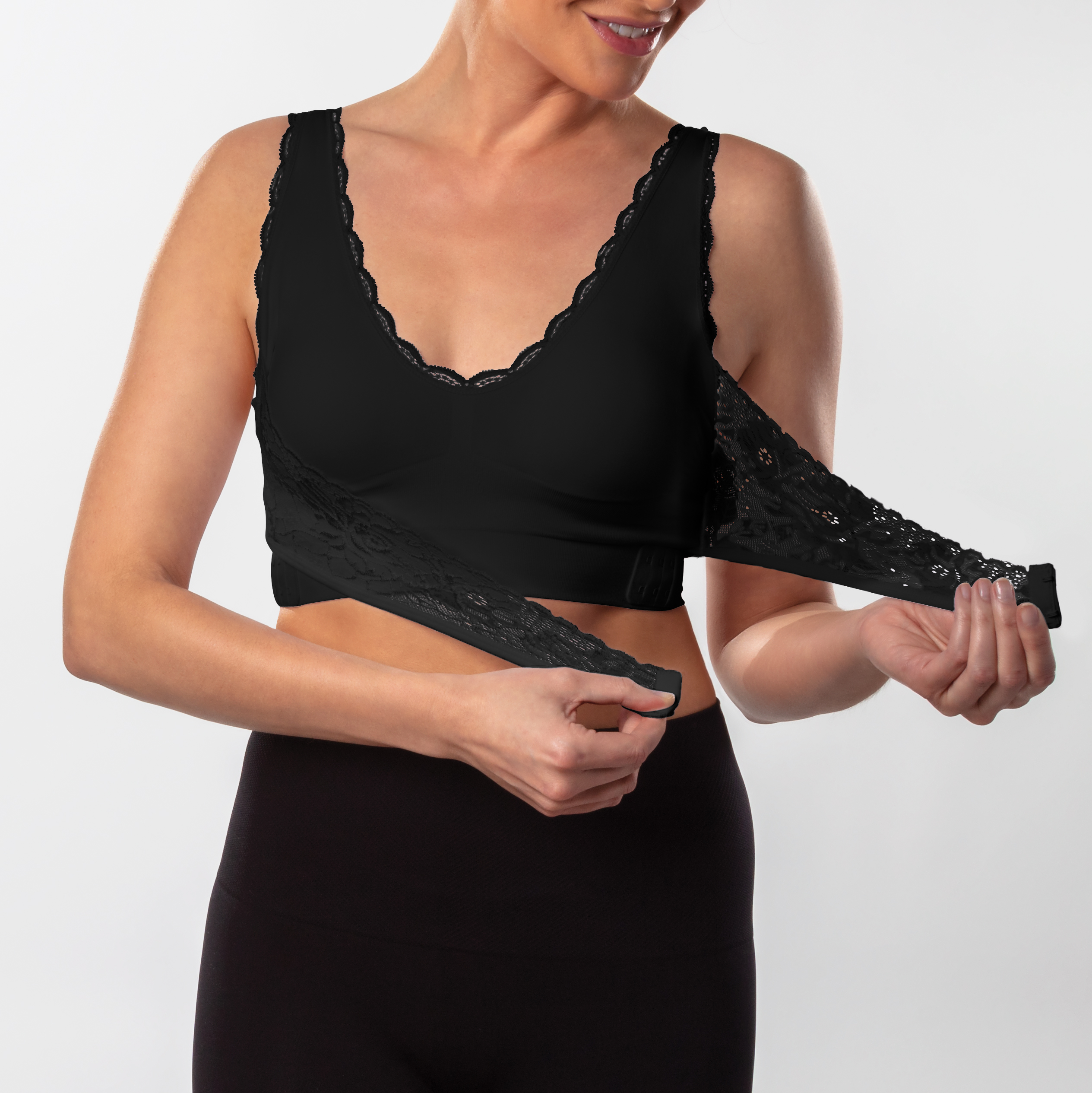 *Dream by Genie Seamless Wire-Free Bra As Seen on TV Large