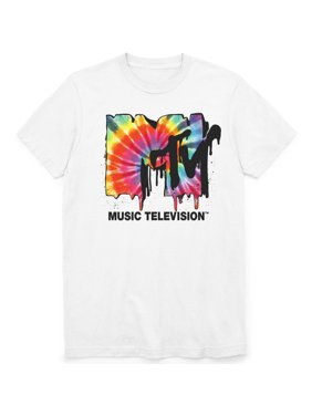 6a8eee0ad Product Image Men's MTV Melted Logo Short Sleeve Graphic T-Shirt