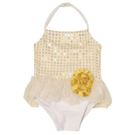 Sol Swim Petite Ballerina 1 piece swimsuit (Baby Girl) 1 Sol Swimwear