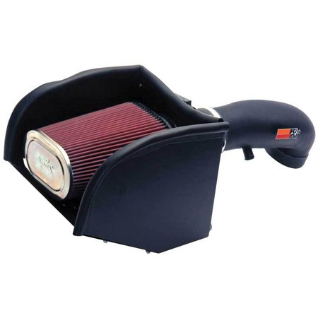 K&N Performance Cold Air Intake Kit 57-3013-2 with Lifetime Filter for 1996-2000 Chevrolet/GMC Truck/SUV -