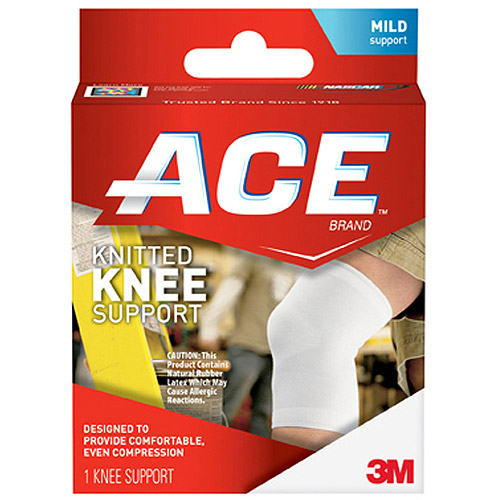 ACE Knitted Knee Support, L, 207305