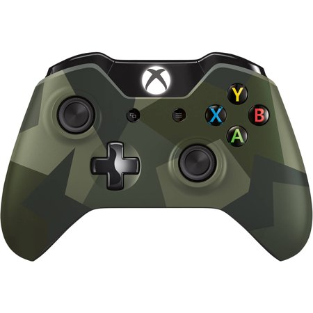 Xbox One Special Edition Armed Forces Wireless Controller - Walmart ...