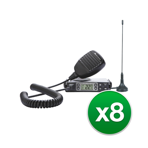 Midland MXT105 8-Pack Two Way Radio by Midland
