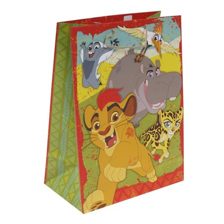 New 382508  Gift Bag Lion King Large (8-Pack) Gift Wrapping Cheap Wholesale Discount Bulk Party Supplies Gift Wrapping Socks](Paper Gift Bags Bulk)
