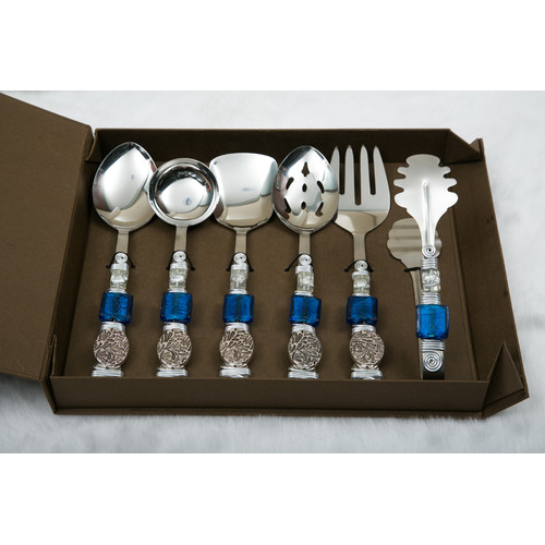 Filigree 6 Piece Hostess / Serving Set