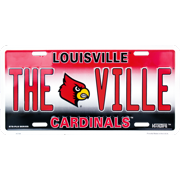 Louisville THEVILLE novelty vanity license plate