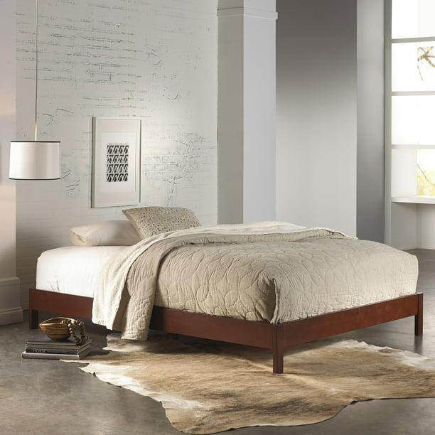 Murray Complete Wood Platform Bed With, Murray Queen Platform Bed