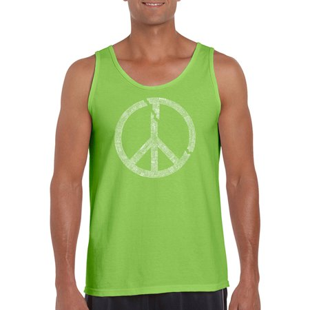 Big Men's Tank Top - Every Major World Conflict Since 1770