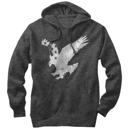 Men's Flying Eagle American Flag Hoodie
