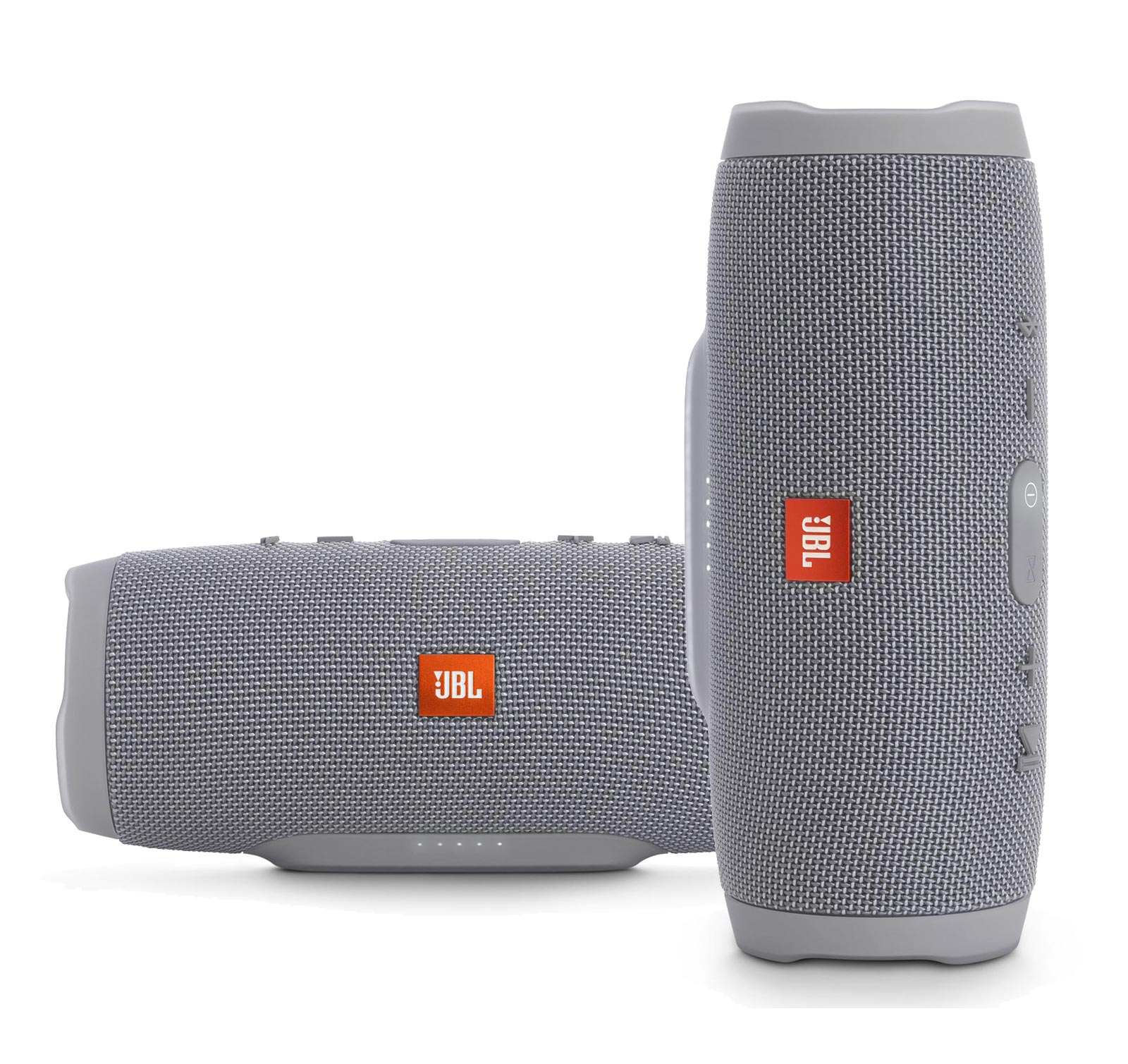 JBL Charge 3 Grey & Grey 2-Pack Kit Bluetooth Speaker by JBL