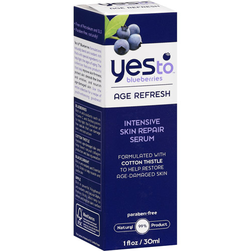 Yes To Blueberries Age Refresh Intensive Skin Repair Serum, 1.7 oz