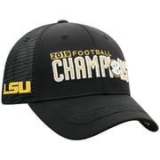 LSU Tigers Top of the World 2019 SEC Football Champions Locker Room Adjustable Hat - Black - OSFA