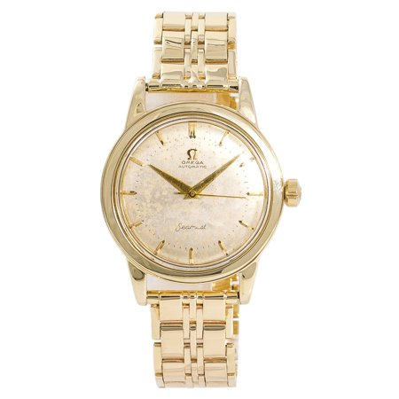 Omega Seamaster UNKNOWN Gold 34mm Watch (Certified Authentic & Warranty)