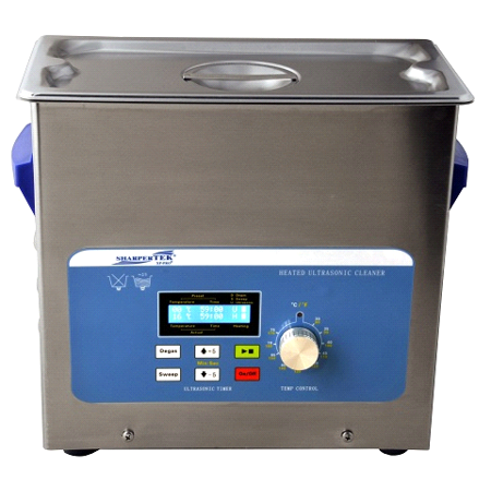 - SharperTek 1.6 Gallon Ultrasonic Heated Cleaner XPS360-6L