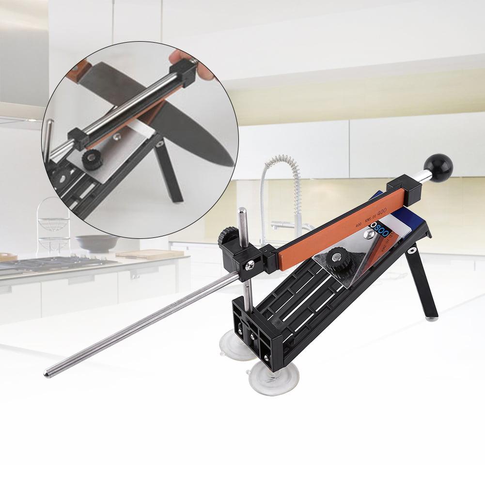 Walfront Professional Kitchen Sharpening Knife Sharpener System Fix