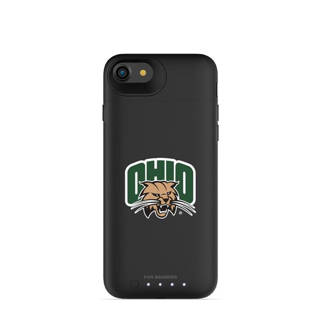 Mophie IPH-87-BK-JPA-OHU-D101 Black Juice Pack Air Case with Ohio University Bobcats Primary Mark Design for iPhone 8 & iPhone 7 - image 1 of 1