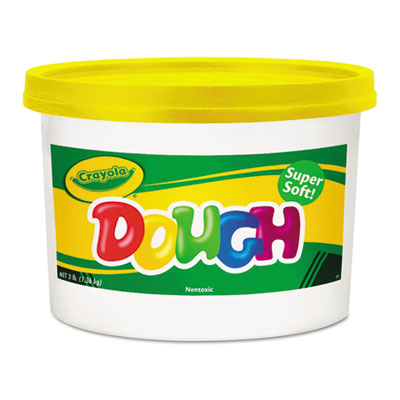 Modeling Dough Bucket, 3 lbs., Yellow, Sold as 1 Each