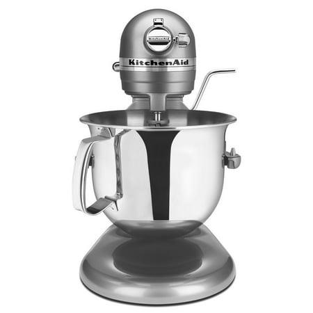 KitchenAid RKSM6573CU 6-Qt. Professional Bowl-Lift Stand Mixer - Contour Silver (Certified Refurbished) ()