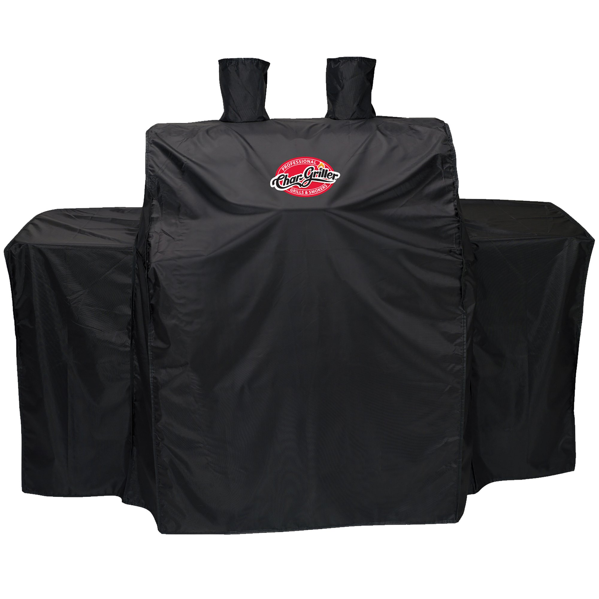 "Char-Griller 54"" X 25"" X 50"" Black Vinyl Grillin Pro Gas Grill Cover"