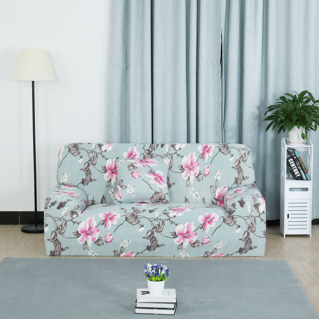 Piccocasa 3 Seats Couch Sofa Covers Slipcovers Printed
