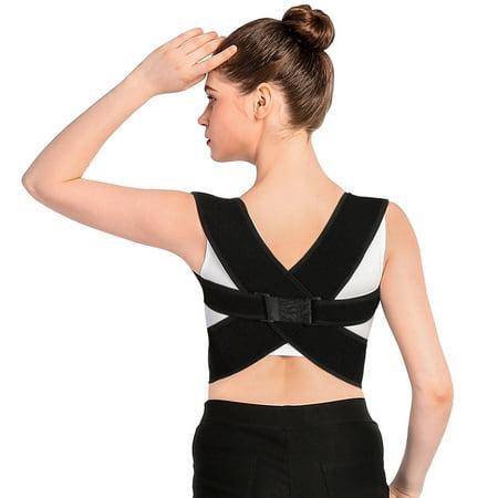 WALFRONT Upper Back Shoulder Spine Support Belt Posture Correction For Men Women,Back Shoulder Spine Support Belt, Back Shoulder Support Belt