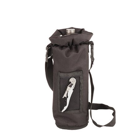 Wine Bottle Carrier, Black Champagne Insulated Waterproof Wine Bottle - Champagne Black Bottle