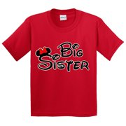 New Way 554 - Youth T-Shirt Mickey Mouse Big Sister