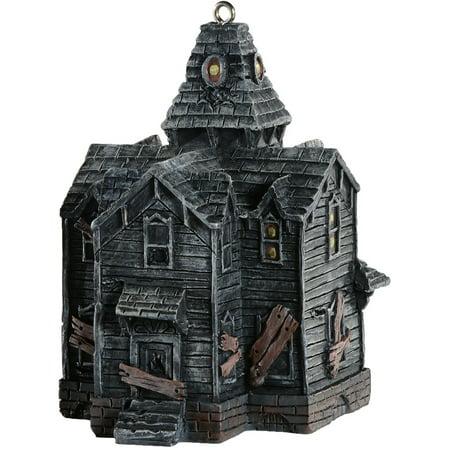 HorrorNaments Haunted House Halloween Christmas Tree Ornament - Halloween Tree With Ornaments