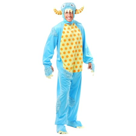 Adult Blue Monster Costume for $<!---->