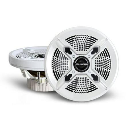 Bazooka Mac6510w Speaker - 100 W Rms - 2-way - 2 Pack - 85 Hz To 20 Khz (mac6510w)